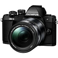 Olympus E-M10 Mark II black/black + ED 14-150 II - Digitální fotoaparát