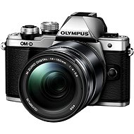 Olympus E-M10 Mark II silver / black + ED 14-150 II