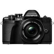 Olympus E-M10 Mark III černé/černé + 14-42mm II R - Digitální fotoaparát