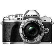 Olympus E-M10 Mark III stříbrné/stříbrné + ED 14-42mm EZ - Digitální fotoaparát