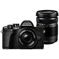 Olympus E-M10 Mark III Pancake černé + ED 14-42EZ černý + 40-150mm R černý - Digitální fotoaparát