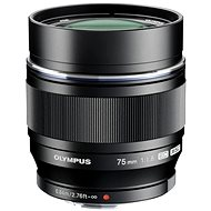M. ZUIKO DIGITAL ED 75 mm black - Lens