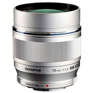 M.ZUIKO DIGITAL ED 75mm silver - Lens