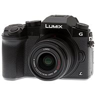 Panasonic LUMIX DMC-G7 + black lens LUMIX G VARIO 14-42 mm (F3.5-5.6)