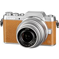 Panasonic LUMIX DMC-GF7 braun + 12-32-mm-Objektiv - Digitalkamera