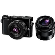 Panasonic LUMIX DMC-GM5 černý + objektivy 12-32mm + 35-100mm