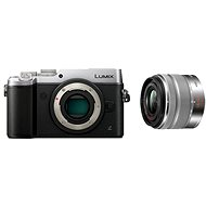 Panasonic LUMIX DMC-GX8 strieborný + objektív 14-42 mm/F3.5-5.6 ASPH - Digitálny fotoaparát