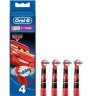 Oral-B Kids Cars náhradní hlavice 4ks - Náhradní hlavice