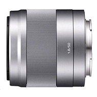 Sony 50mm F1.8 strieborný