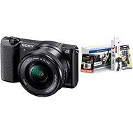 Sony Alpha A5100 černý + objektiv 16-50mm + Alza Foto Starter Kit