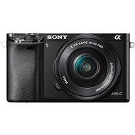 Sony Alpha 6000 čierny + objektív 16-50mm - Digitálny fotoaparát
