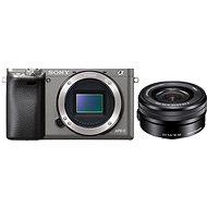 Sony Alpha 6000 grafitový + objektív 16-50mm - Digitálny fotoaparát