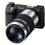 Sony NEX 6Y + 2 objektivy 16-50mm a 55-210 mm