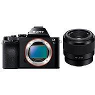 Sony Alpha 7S digitális fényképezőgép + FE 50mm f/1.8 objektív - Digitális fényképezőgép