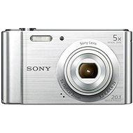 Sony CyberShot DSC-W800 stříbrný - Digitální fotoaparát