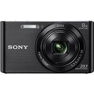 Sony CyberShot DSC-W830 černý - Digitální fotoaparát