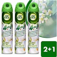 Airwick Spray 4in1 Biele kvety frézie 240 ml 2 + 1 ks