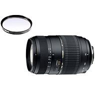 TAMRON AF 70-300mm F/4-5.6 Di pro Canon LD Macro 1:2 + UV filtr Hama 0-HAZE