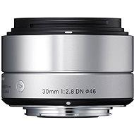 SIGMA 30mm F2.8 DN ART stříbrný OLYMPUS - Objektiv