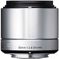 SIGMA 60mm F2.8 DN ART stříbrný SONY - Objektiv