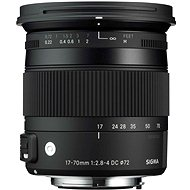 SIGMA 17-70mm F2.8-4 DC MACRO OS HSM for Canon (Contemporary Series)
