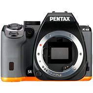 PENTAX K-S2 black / orange