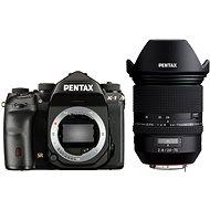PENTAX K-1 černý + FA 24-70 WR - Digitální zrcadlovka