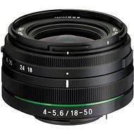 PENTAX HD DA 18-50mm F4-5.6 DC WR RE - Objektiv