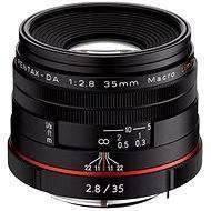 PENTAX HD DA 35 mm F2.8 Macro Limited. Black
