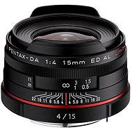 HD PENTAX DA 15 mm F4 ED AL Limited. Black