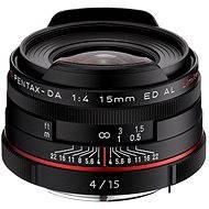 PENTAX HD DA 15 mm F4 ED AL Limited. Black