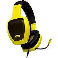 OZONE RAGE Z50 GLOW žlutá - Sluchátka s mikrofonem