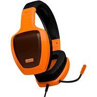 OZONE RAGE Z50 GLOW oranžová - Sluchátka s mikrofonem