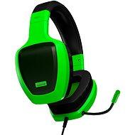 OZONE RAGE Z50 GLOW zelená - Sluchátka s mikrofonem