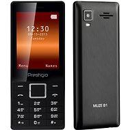 Prestigio MUZE B1 Black - Mobilný telefón