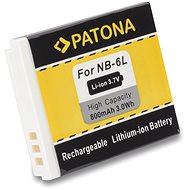 PATONA für Canon NB-6L 800mAh Li-Ion - Ersatzbaterie
