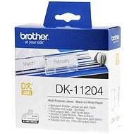 Brother DK-11204 - Paper Label