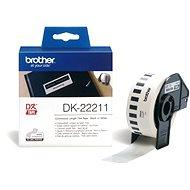 Brother DK 22211 - Papírové štítky