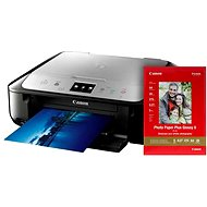 Canon PIXMA MG6852 black-silver + photo paper Canon PP-201
