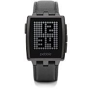 Pebble Steel černé - Chytré hodinky