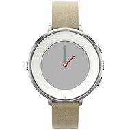 Pebble Time Round stříbrné - Chytré hodinky