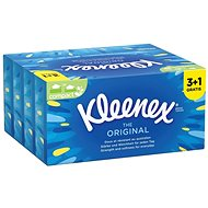 KLEENEX® Original Box (88 ks) 3 + 1 Gratis