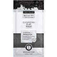 FREEMAN Beauty Infusion Čisticí jílová maska dřevěné uhlí + proBeauty Infusionotika 15 ml