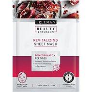 FREEMAN Beauty Infusion Revitalizační látková maska granátové jablko + peptidy 25 ml