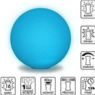 Colour changing Sphere 50cm - Dekorativní osvětlení