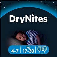 HUGGIES Dry Nites Medium 4-7 years Boys (10 ks)
