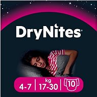 HUGGIES Dry Nites Medium 4-7 years Girls (10 ks)