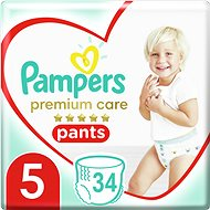 PAMPERS Premium Care Pants vel. 5 Junior (40 ks)