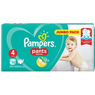 Pampers Pants Jumbo Pack 4 Maxi (52 ks)