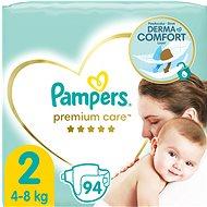 PAMPERS Premium Care vel. 2 Mini (96 ks) - Dětské pleny